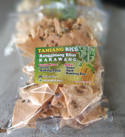 Tamiang RIce | Rempeyek